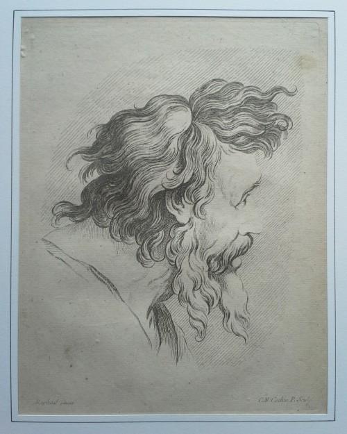Portraits Dessins De Raphael Gravees Par Charles Nicolas Cochin